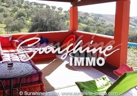 Beautiful one bedroom country house in an idyllic area in Alora for sale and rent or Rent purchase!