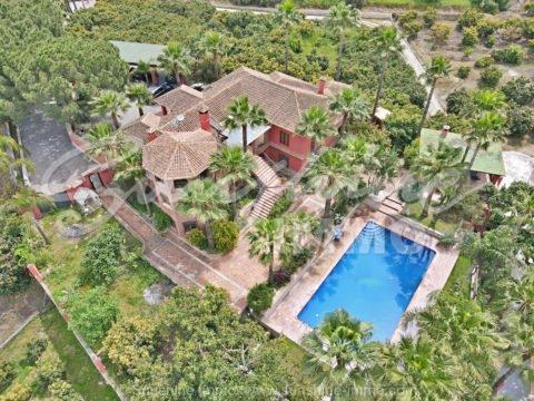 Beautiful dream villa of 561m2 on a 6640m2 plot with avocado tree plantations.