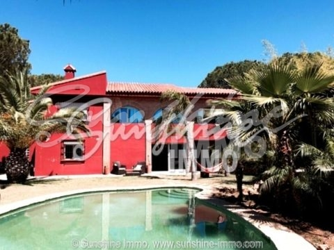 Very beautiful, modern furnished villa in Alhaurin de la Torre, Gaucin.