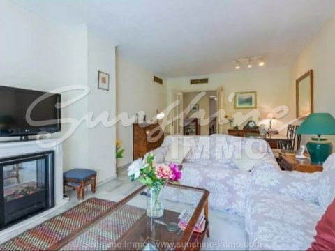 Nice furnished apartment in a quiet but centric zone and only 10 minutes to old town Marbella