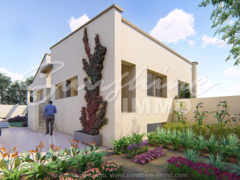 New bulding construction!. Detached House with swimming pool. 106m2, 3 bedrooms on a plot of 418 m2 in Urb. Los Nebrales, Coin.