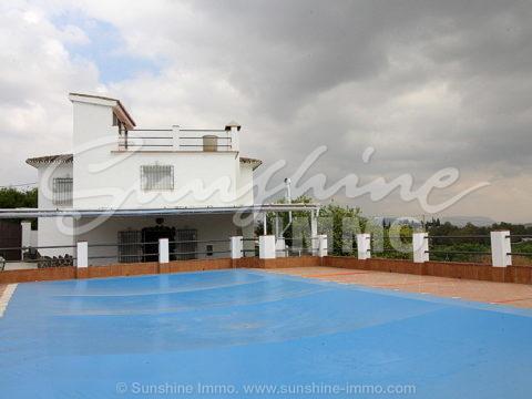 LANG LANG MIETEN Landhaus 150 m2, 5 Schlafzimmer, privater Pool auf einem Grundstück von 1000m2. Der Ejido, Coin
