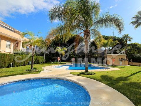 Two Bedroom Ground Floor Apartment in El Rosario, Marbella. Three Minutes Walk to the Beach. Unbeatable Location.