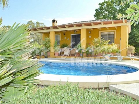 Beautiful rustic country house with private pool and panoramic views.